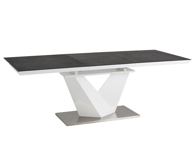 Signal Jedálenský stôl ALARAS II stoly: 75 x 90 x 160 / 220 cm