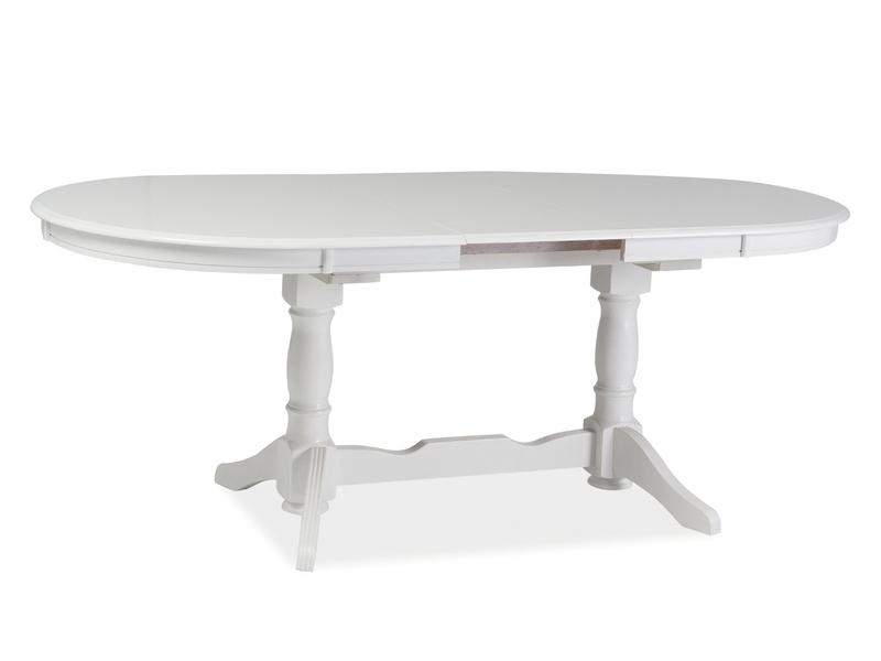 Signal Jedálenský stôl EUROPA / biela