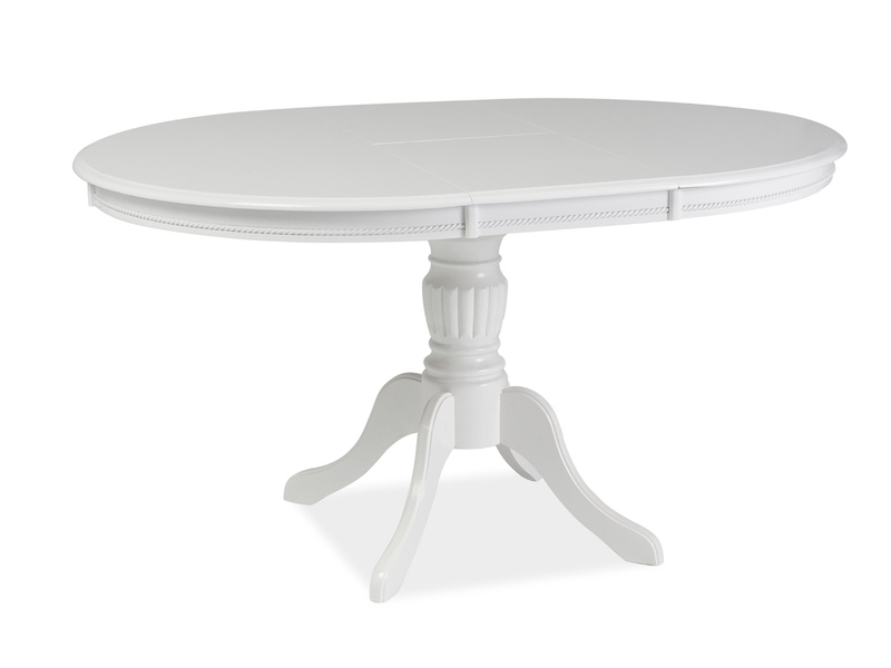 Signal Jedálenský stôl OLIVIA / biela