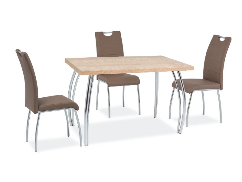 Signal Jedálenský stôl SK-2 | 120x68 Farba: dub sonoma