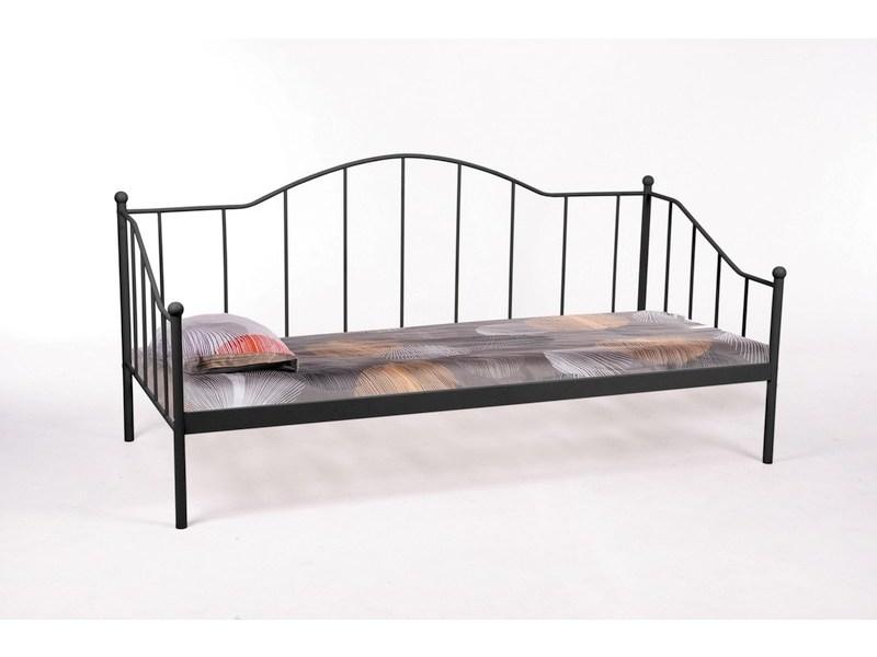 Signal Jednolôžková posteľ DOVER / čierna