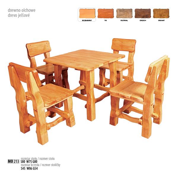 Drewmax Záhradné sedenie MO213 Prevedenie: Záhradný set
