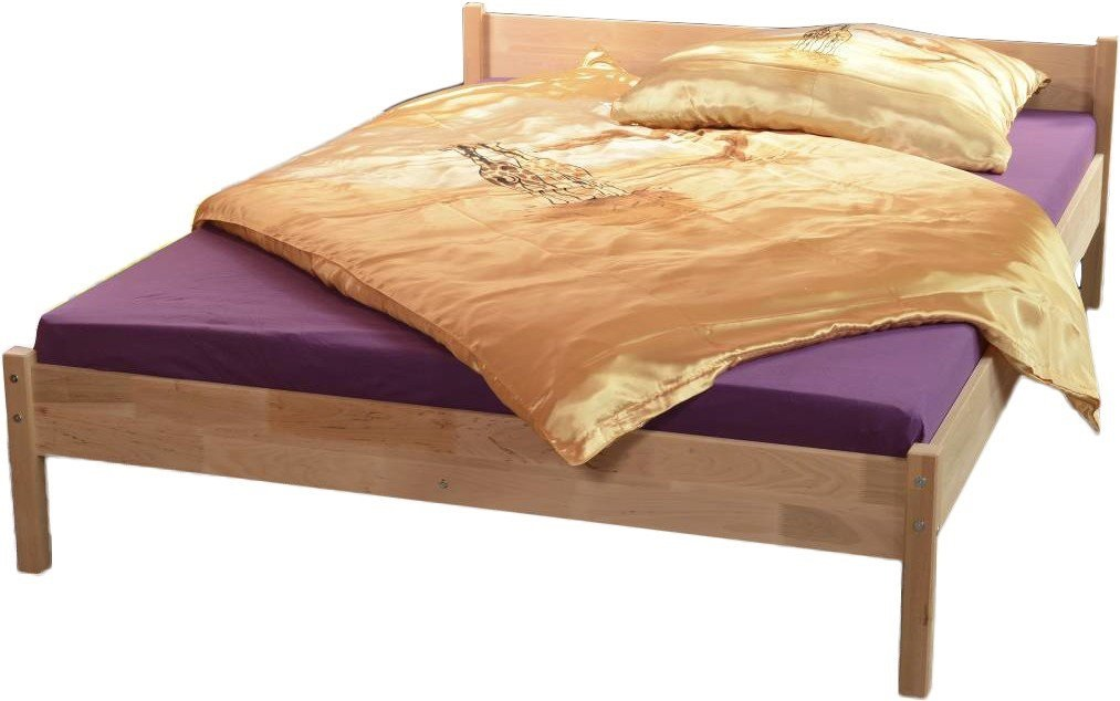 ArtLod Drevená posteľ Torus / 160x200 Prevedenie: s roštom