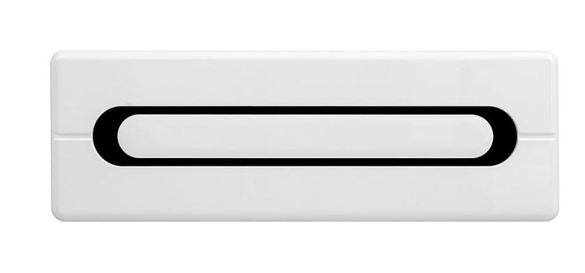 BRW Závesná skrinka Byron SFW1K/4/12 Farba: dub san remo svetlý/biely vysoký lesk