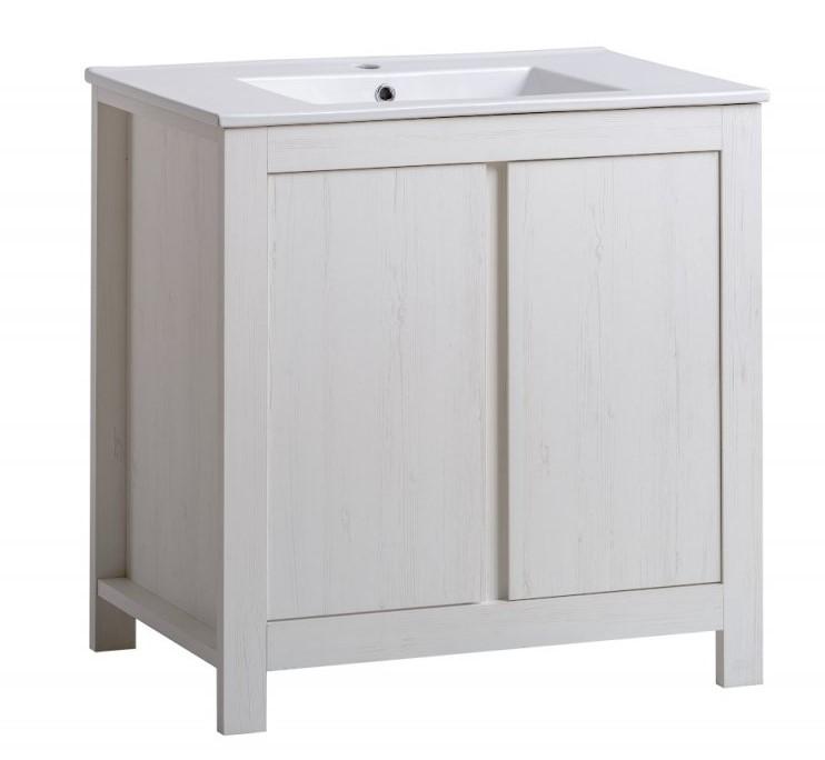 ArtCom Kúpeľňová zostava CLASSIC ANDERSEN Classic II: ZMONTOVANÁ - Skrinka pod umývadlo 80 cm (2D) 821 / (ŠxVxH) 80 x 82 x 46 cm