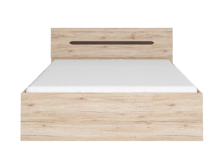 BRW Manželská posteľ Elpasso LOZ/160 Farba: dub san remo svetlý