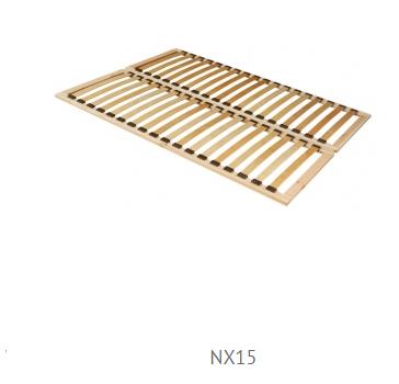 Forte Manželská posteľ Julietta JLTL142 Prevedenie: rošt NX15