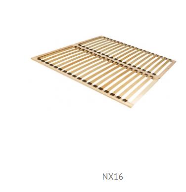 Forte Manželská posteľ Julietta JLTL162 Prevedenie: rošt NX16
