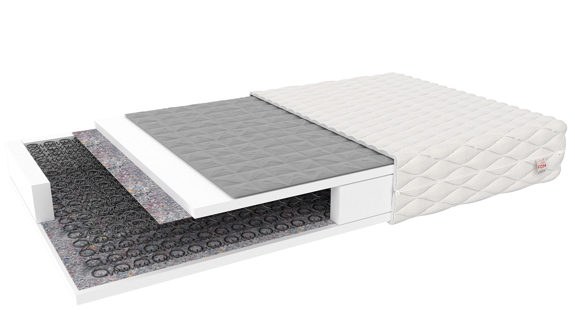 FDM Detský matrac Baby Natural Prevedenie: 90 x 190 cm