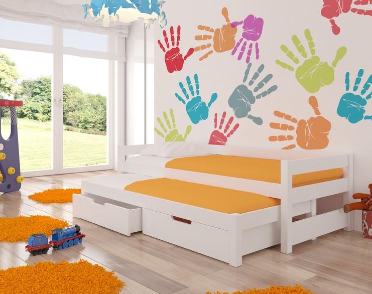 ArtAdr Detská posteľ Fraga Farba: Biela
