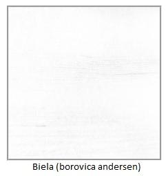 ArtElb Jedálenský stôl MAX 5 P Farba: Biela