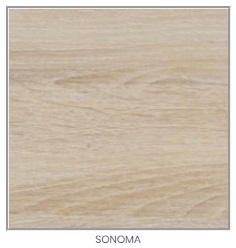 ArtElb Jedálenský stôl Modena 1 P Farba: Sonoma