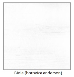 ArtElb Jedálenský stôl Modena 1 P Farba: Biela