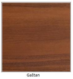 ArtElb Jedálenský stôl Poli 1 S Farba: Gaštan