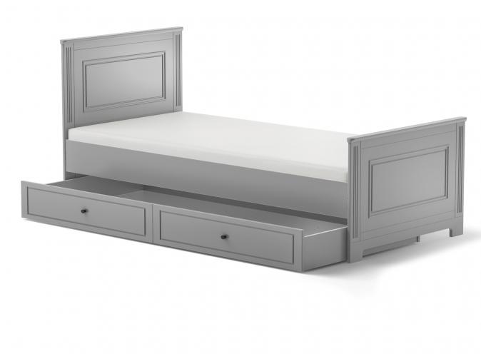 ArtBel Detská posteľ Ines 90x200 Farba: Šedá