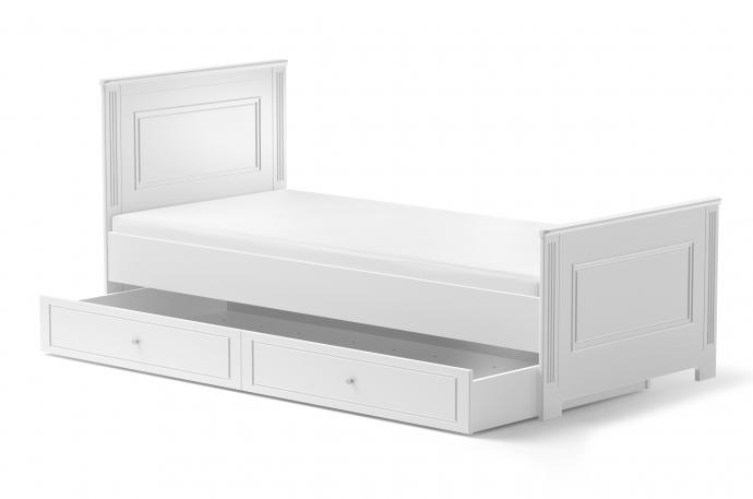 ArtBel Detská posteľ Ines 90x200 Farba: Biela