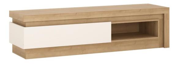 ArtExt Tv stolík Lyon LYOF02 Farba: dub riviera / biely lesk