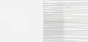 ArtMadex Manželská posteľ Lux stripes Farba: Biela / biely stripes