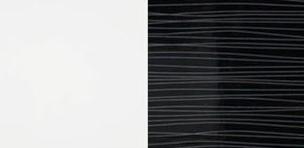 ArtMadex Manželská posteľ Lux stripes Farba: Biela / čierny stripes