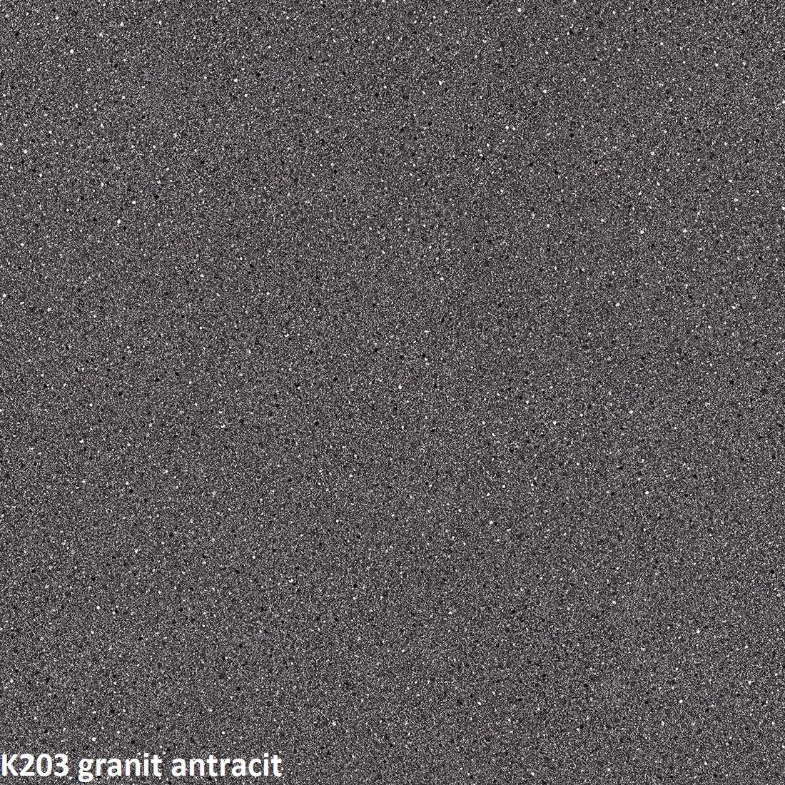 ArtExt Pracovná doska - 38 mm 38 mm: Anthracite Granite K 203 PE