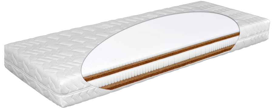 Matratex Matrac AIRYLATTEX DUO Rozmer: 180 x 200 cm, Tvrdosť: Tvrdosť T4