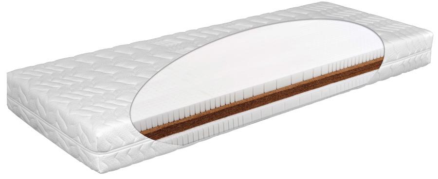 Matratex Matrac AIRYLATTEX EXTRA Rozmer: 160 x 200 cm, Tvrdosť: Tvrdosť T4