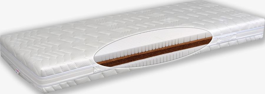 Matratex Matrac AIRYLATTEX COMFORT Rozmer: 180 x 200 cm, Tvrdosť: Tvrdosť T4