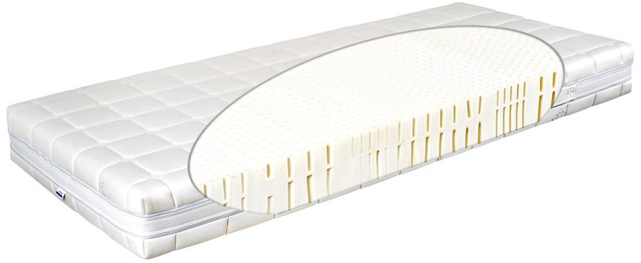Matratex Matrac Latex prima physio T4 Rozmer: 90 x 200 cm, Tvrdosť: Tvrdosť T4