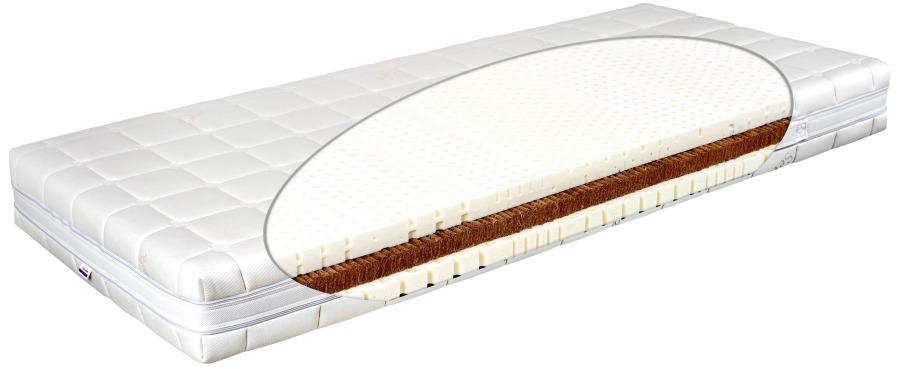 Matratex Matrac Latex comfort physio excel Rozmer: 90 x 200 cm, Tvrdosť: Tvrdosť T4