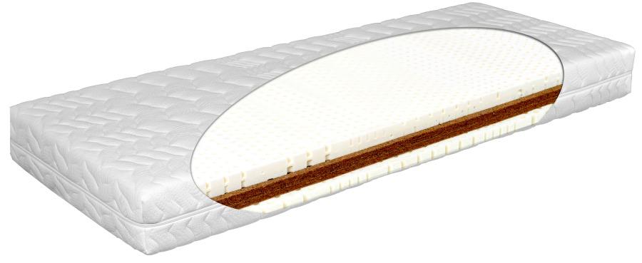 Matratex Matrac Latex comfort physio Rozmer: 160 x 200 cm, Tvrdosť: Tvrdosť T4