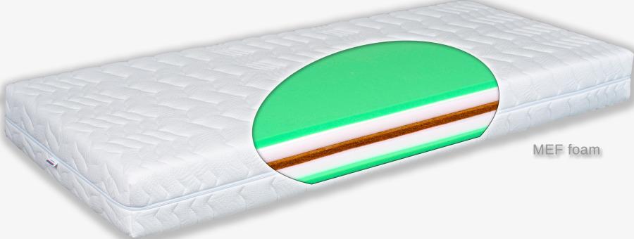 Matratex Matrac Grand zone MEF Rozmer: 140 x 200 cm, Tvrdosť: tvrdosť T3