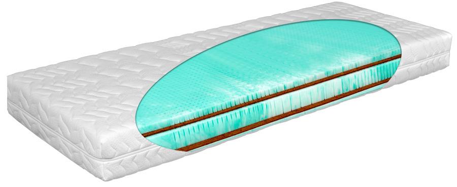 Matratex Matrac Elit green panter Rozmer: 80 x 200 cm, Tvrdosť: Tvrdosť T4, Výška: 17 cm