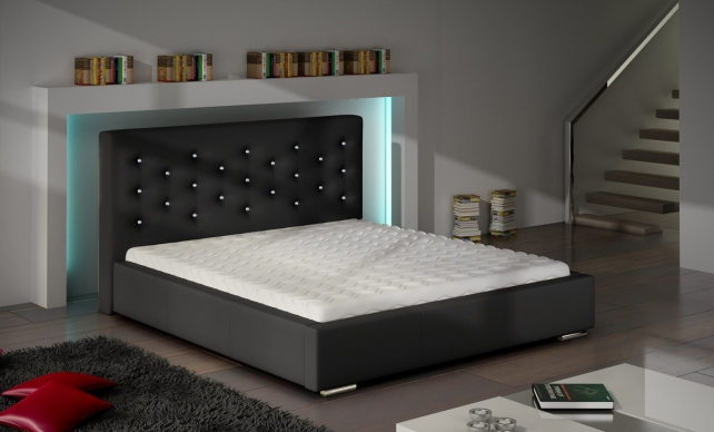 ArtMarz Manželská posteľ Savana Crystal Prevedenie: 160 x 200 cm