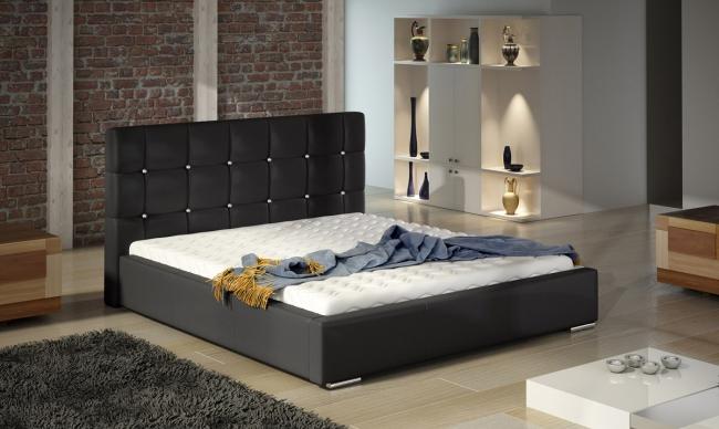ArtMarz Manželská posteľ Tessa Crystal Prevedenie: 120x200 cm