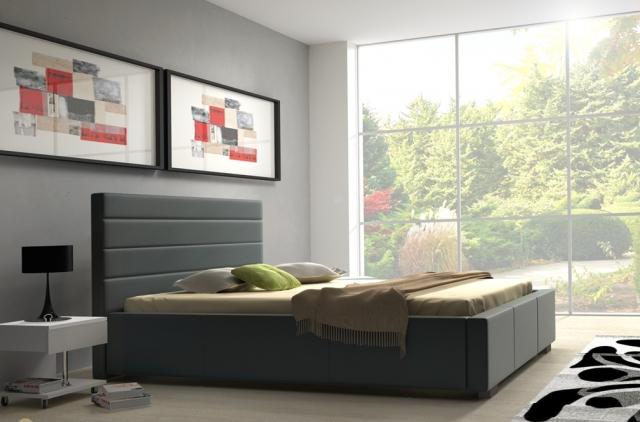 ArtMarz Manželská posteľ Sylvi Prevedenie: 120x200 cm