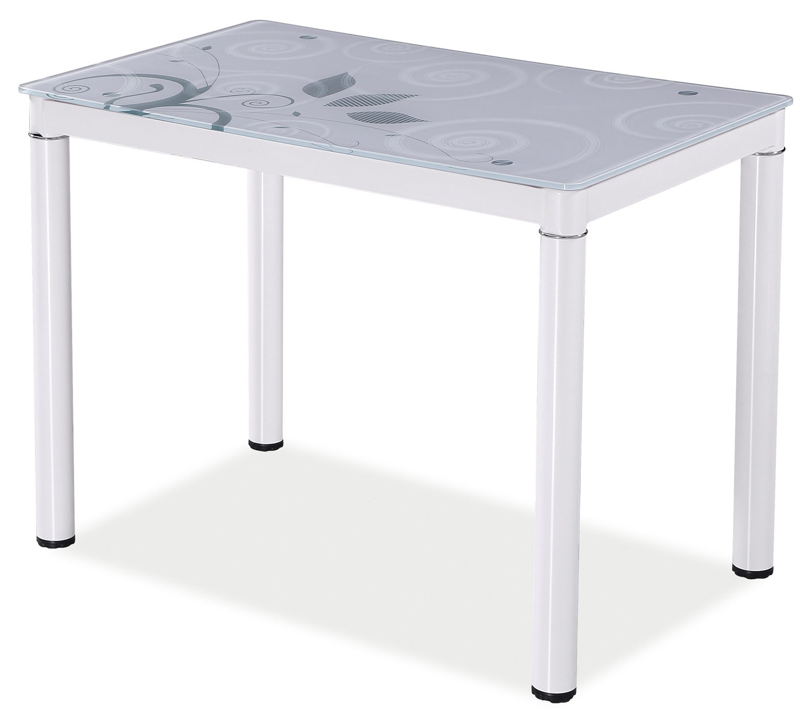 Signal Jedálenský stôl Damar 80x60 Farba: Biela