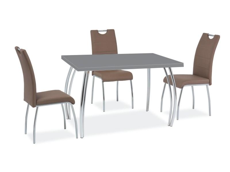 Signal Jedálenský stôl SK-2   102x64 Farba: Sivá