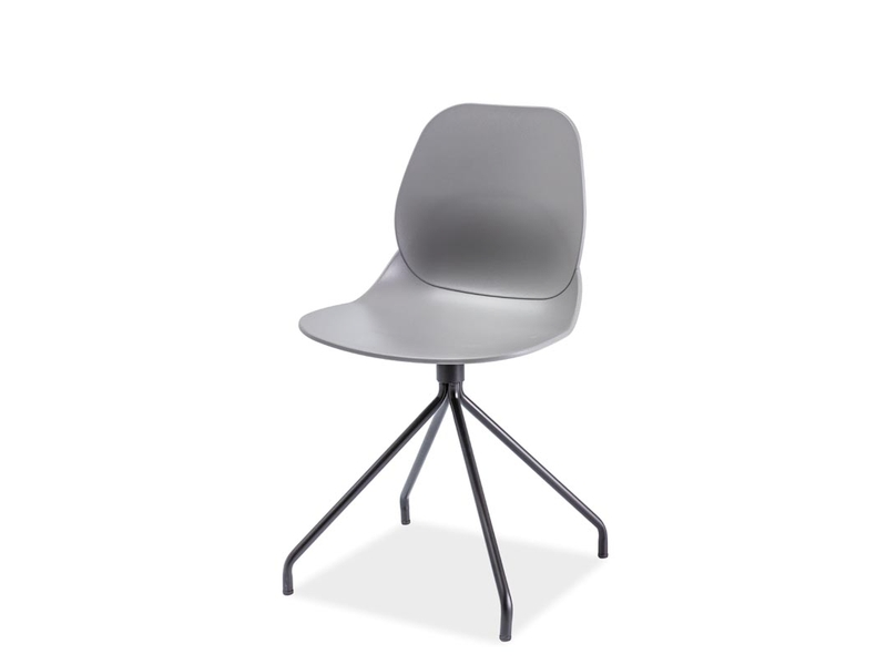 Signal Jedálenská stolička NERO Farba: Sivá
