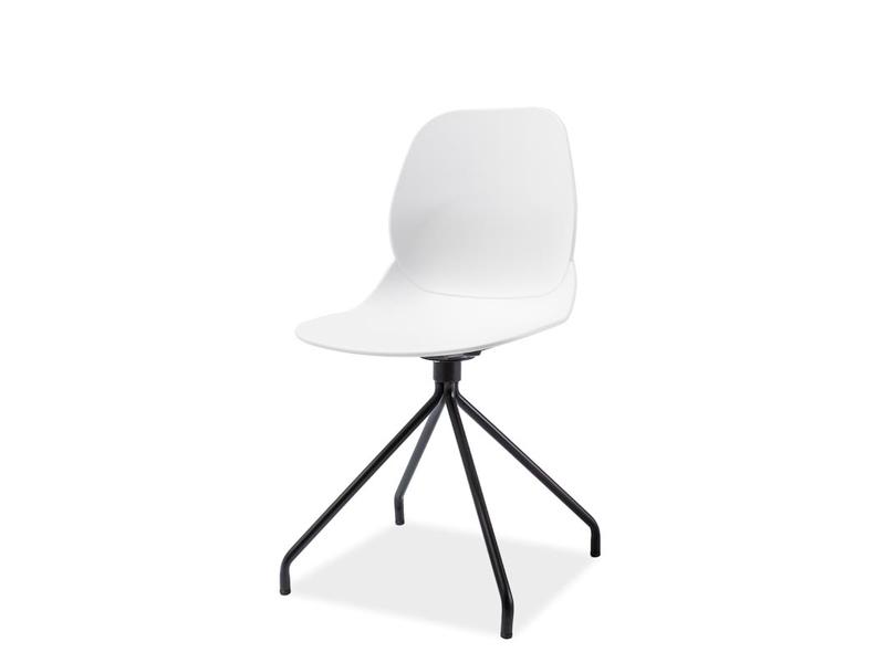 Signal Jedálenská stolička NERO Farba: Biela
