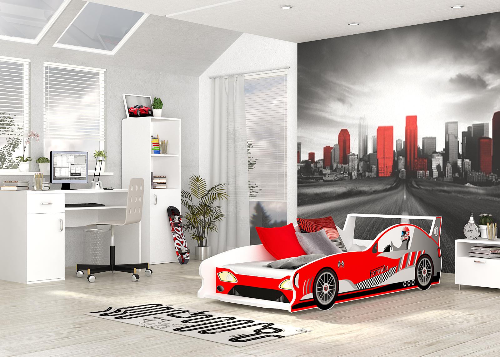 ArtAJ Detská posteľ GT-F1 GT-F1: vzor 06 s matracom