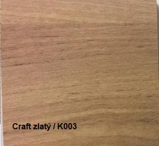JarStol Šatníková skriňa Antica 211 Farba: craft zlatý