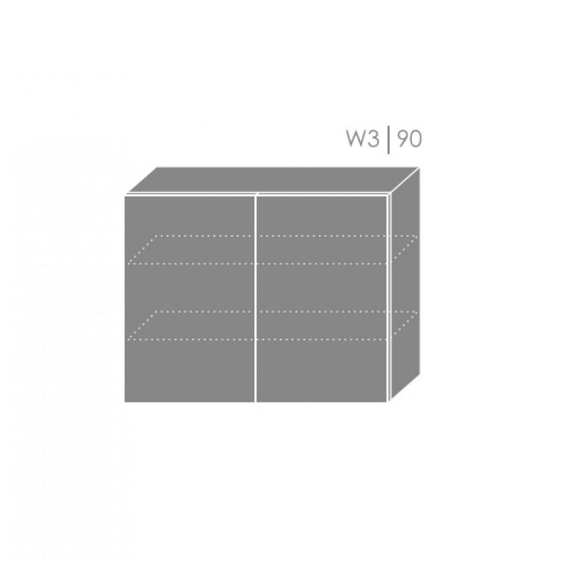 ArtExt Kuchynská linka Pescara Kuchyňa: Horná skrinka W3/90 / ŠxVxH) 90 x 72 x 32,5 cm