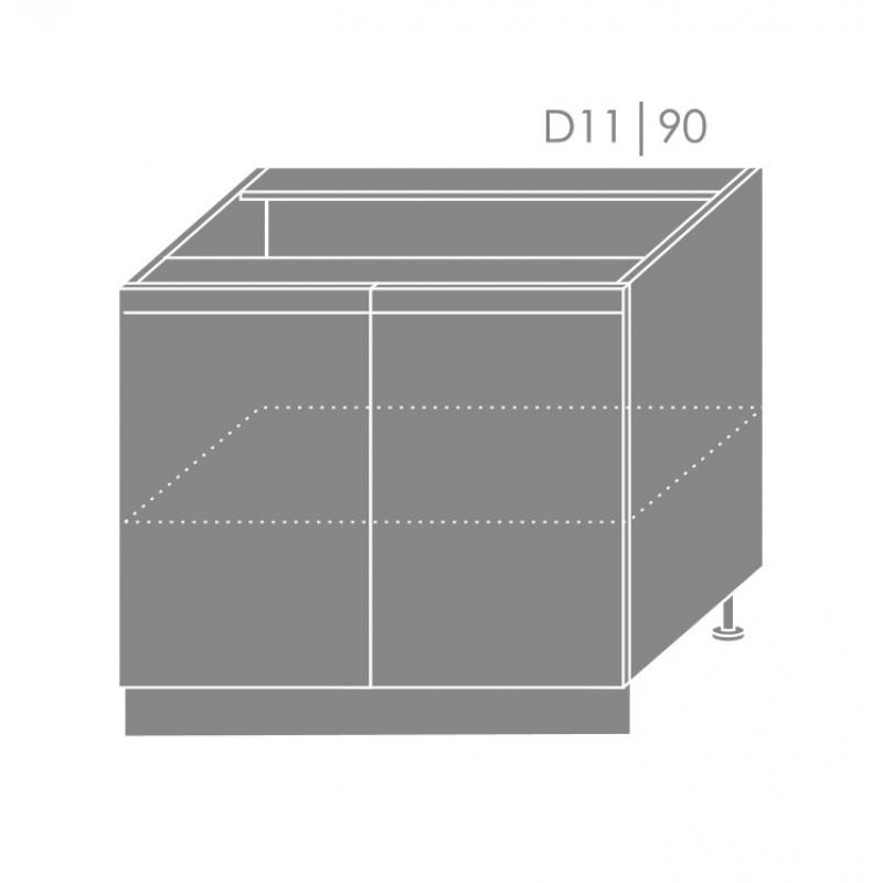 ArtExt Kuchynská linka Pescara Kuchyňa: Spodná skrinka D11/90 / (ŠxVxH) 90 x 82 x 50 cm