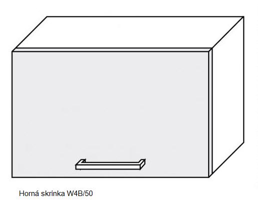 ArtExt Kuchynská linka Pescara Kuchyňa: Horná skrinka W4B/50 / (ŠxVxH) 50 x 36 x 32,5 cm