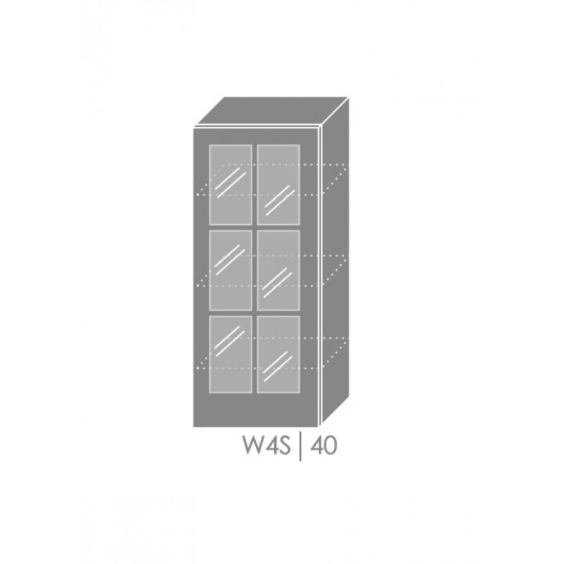 ArtExt Kuchynská linka Pescara Kuchyňa: Horná skrinka W4S/40 / (ŠxVxH) 40 x 96 x 32,5 cm