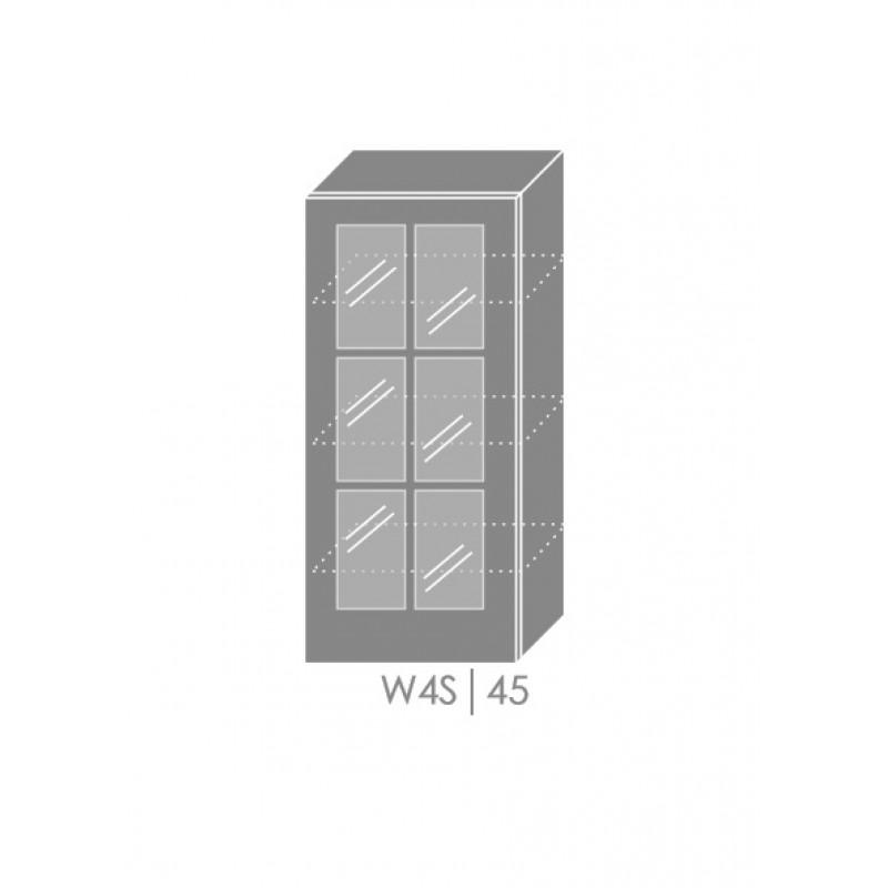 ArtExt Kuchynská linka Pescara Kuchyňa: Horná skrinka W4S/45 / (ŠxVxH) 45 x 96 x 32,5 cm