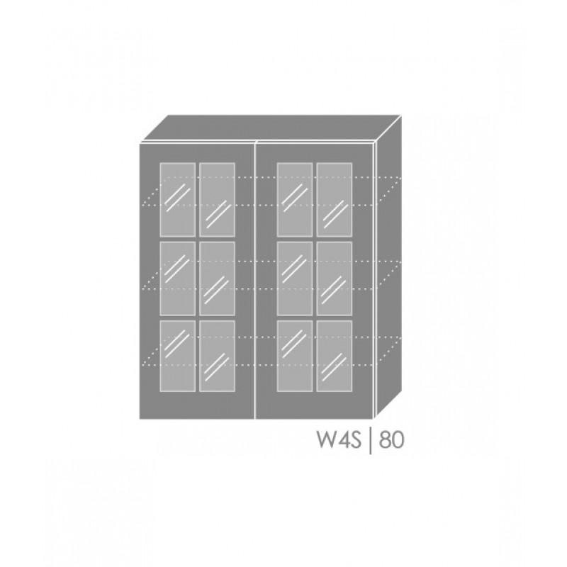 ArtExt Kuchynská linka Pescara Kuchyňa: Horná skrinka W4S/80 / (ŠxVxH) 80 x 96 x 32,5 cm