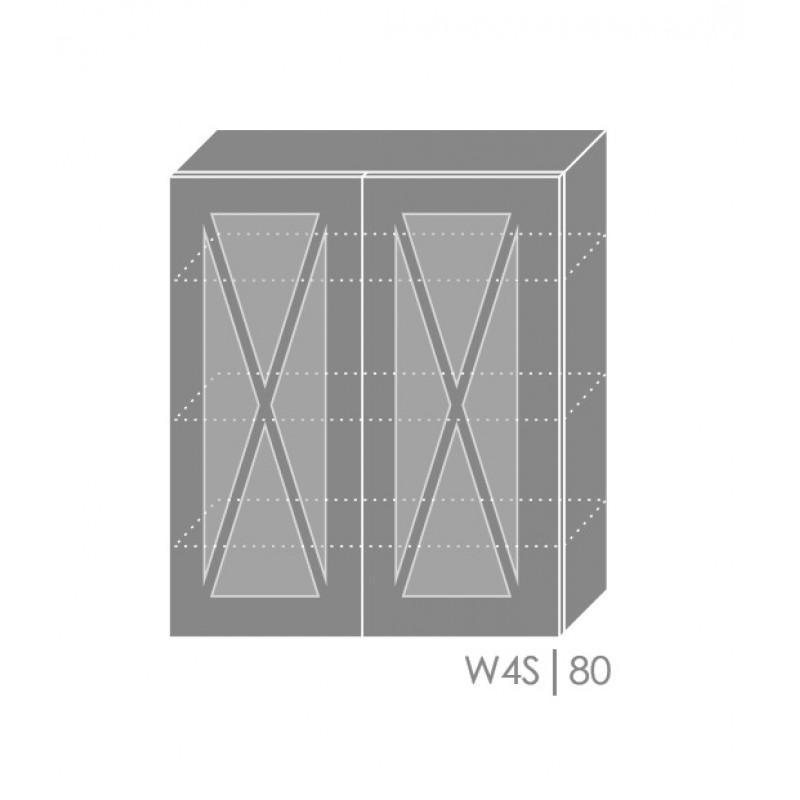 ArtExt Kuchynská linka Tivoli Kuchyňa: Horná skrinka W4S/80 / (ŠxVxH) 80 x 96 x 32,5 cm