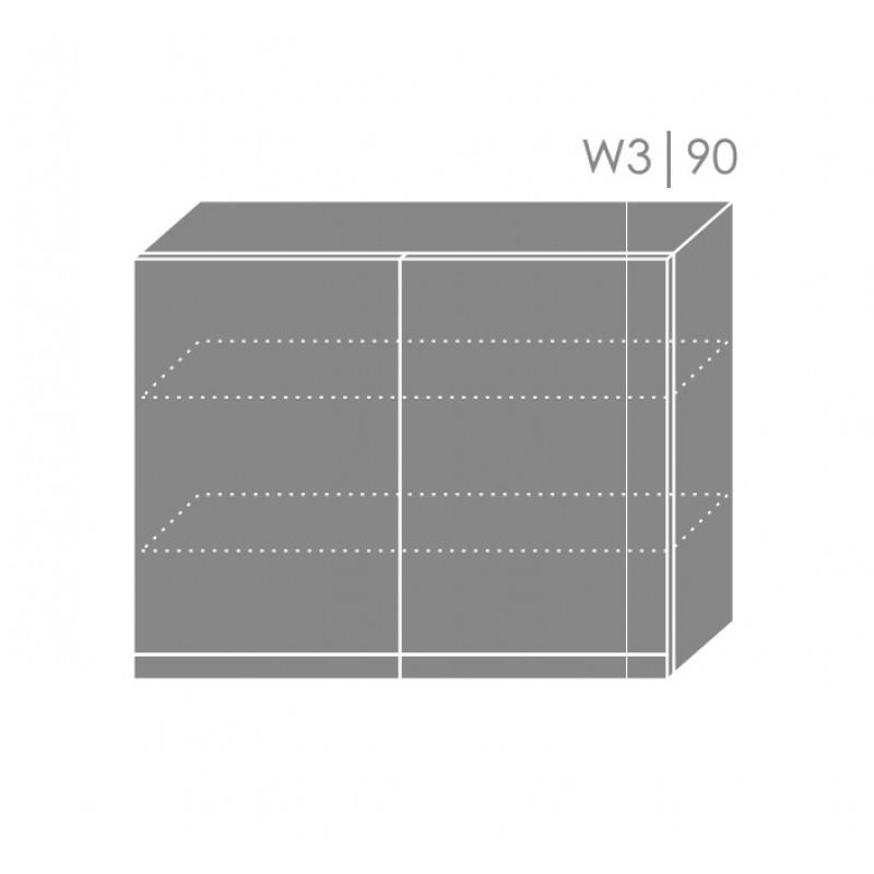 ArtExt Kuchynská linka Tivoli Kuchyňa: Horná skrinka W3/90 / (ŠxVxH) 90 x 72 x 32,5 cm