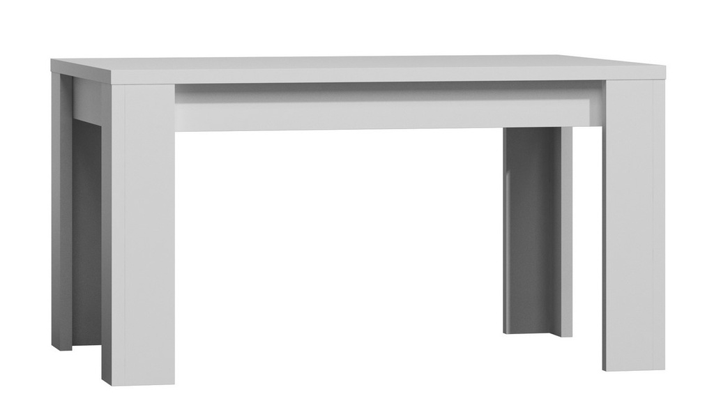 JarStol Jedálenský stôl Paris 160 Farba: Biela alpská